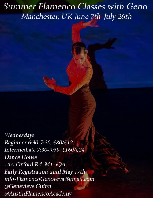 Dance Classes With Genevieve Guinn Flamenco Manchester